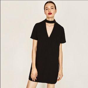 Zara V-Neck Shift Dress